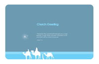 Christianity_holiday1 Greeting Card (55x85)